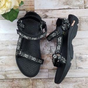 6d3750835561 Teva Shoes - Womens Teva Hurricane 3 Black Sport Sandals